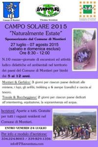 Campo estivo 20151
